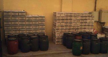 "Photo of ""تموين القليوبية"" ضبط كمية من الخل والعسل مجهول المصدر بشبرا الخيمة"