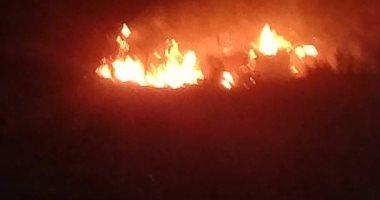 Photo of 14 سيارة إطفاء تخمد حريقا هائلا اندلع فى مصنع تنر بأبو رواش