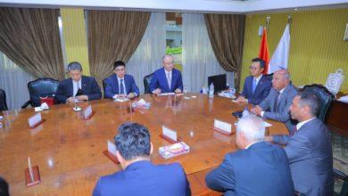 Photo of بحث التعاون المشترك في مجال انشاء خطوط جديدة للسكك الحديدية ومشروع تطوير خط أبوقير