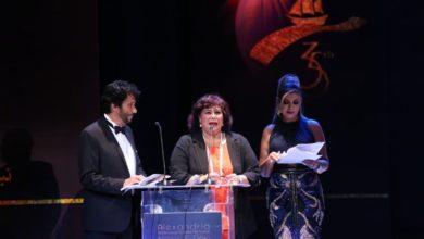 وزير الثقافة خلال فعاليات الدورة ٣٥ من الاسكندرية السينمائى