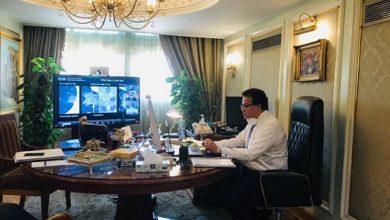 Photo of وزير التعليم العالي يفتتح المؤتمر الافتراضي الدولي لجامعة حلوان عن  فيروس كورونا المستجد