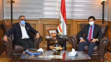 Photo of وزير الرياضة يناقش مع الجنايني خارطة طريق الكرة المصرية
