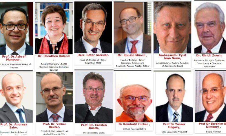 Photo of مجلس أمناء الجامعة الألمانية الدولية: تجربتنا بمصر  الأنجح على مستوى العالم