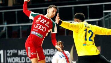 Photo of دومنيك ماتيى أفضل لاعب بمباراة المجر وأوروجواى فى مونديال اليد
