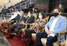 Photo of وزير الرياضة ورئيس الاتحاد الدولي لليد يشهدان مباراة الأرجنتين والبحرين
