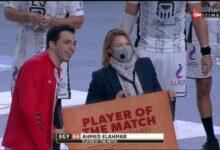 Photo of أحمد الأحمر رجل مباراة مصر والاتحاد الروسي بمونديال اليد