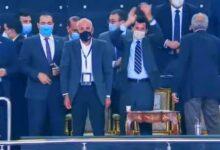 Photo of أشرف صبحي مشجع بدرجة وزير فى لقاء مصر الإتحاد الروسي