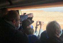 Photo of ١٥٠ إعلاميا اجنبيا يزورن أهرامات الجيزة وسعادة كبيرة بالحضارة المصرية