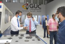 Photo of • زيارة السفير الألماني الجديد للجامعة الألمانية بالقاهرة GUC والجامعة الألمانية الدولية GIU بالعاصمة الإدارية الجديدة